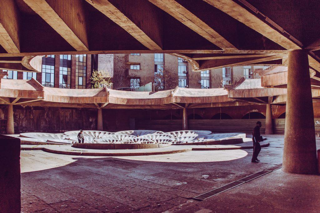 Republic Square Yerevan Soviet Modern Architecture