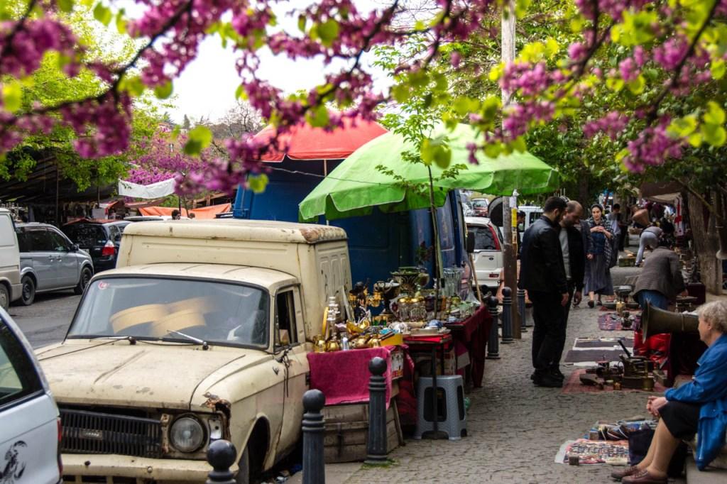Dry Bridge Market Tbilisi