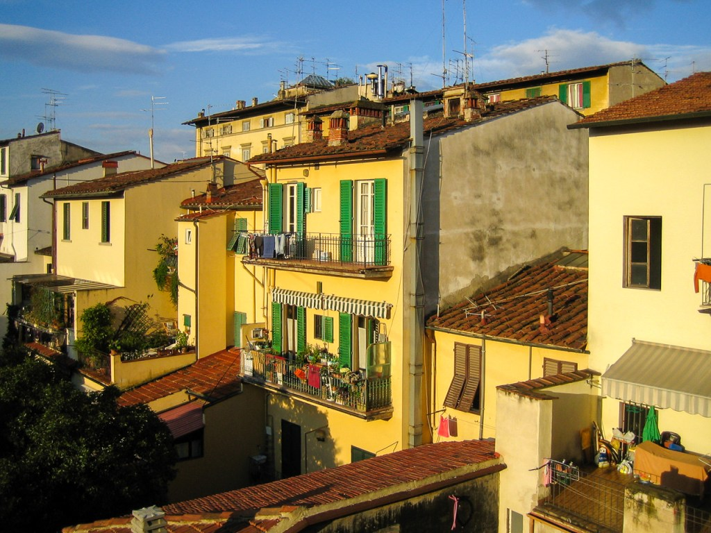 View from our Terrace in Florence
