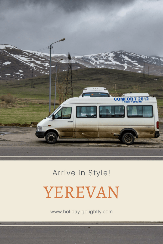 Yerevan transfer from Tbilisi