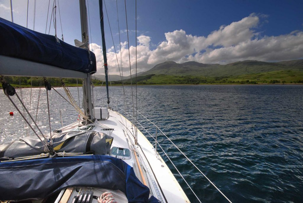 Loch Spelve on the Isle of Mull