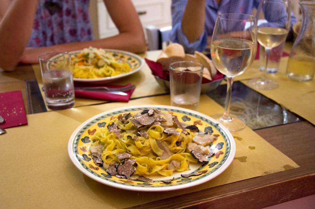 Florence in high season: truffles for dinner?