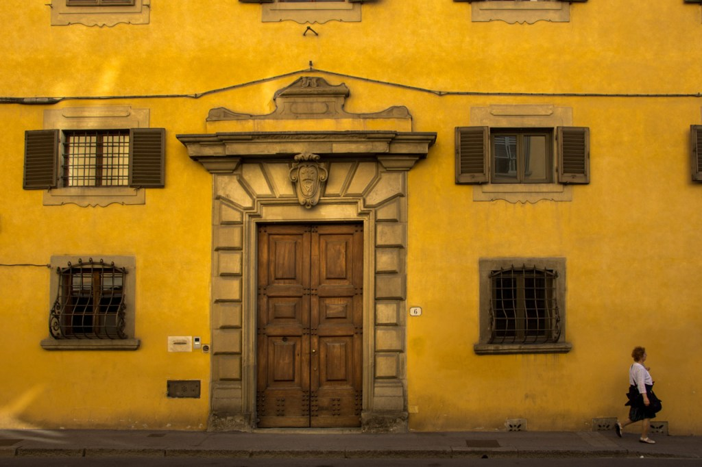 Florence in high season: Early Morning, Florence Doors