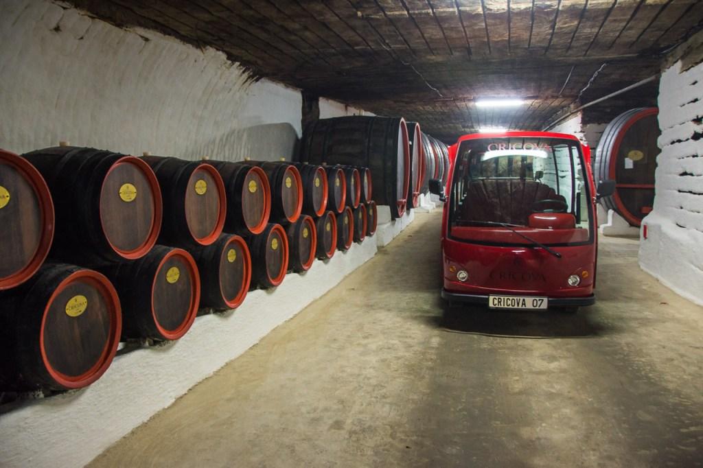 Moldova wine Cricova