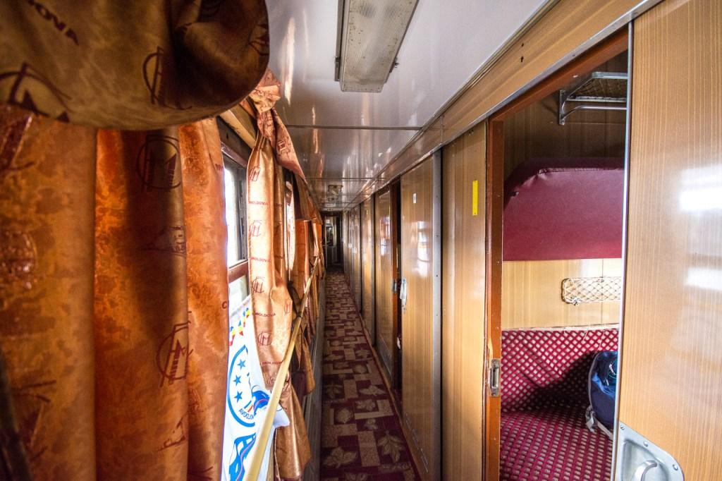 Chisinau Bucharest vintage Soviet train