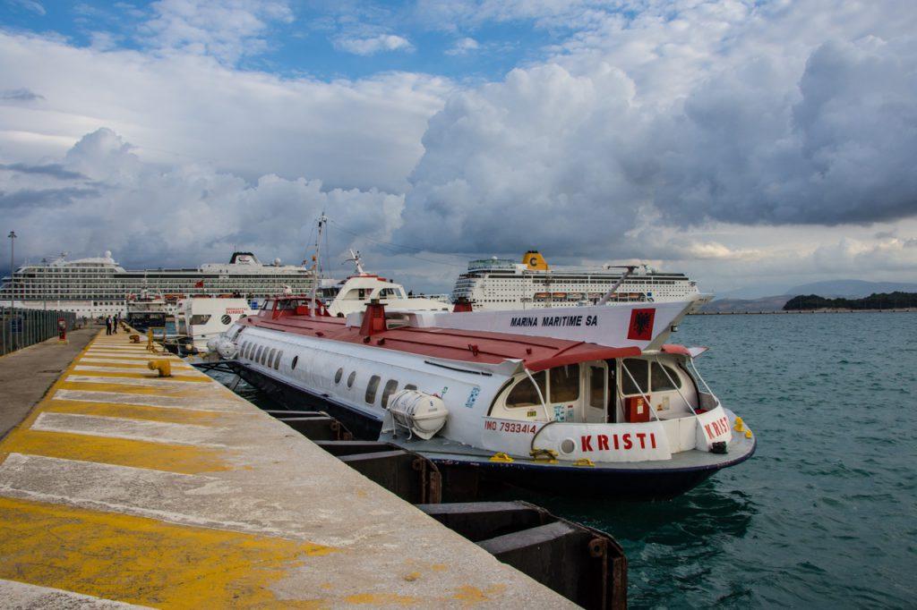 Kometa hydrofoil Kristi operated by Finikas Lines