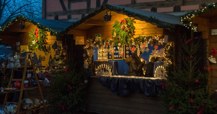 Local Yokel on a Day Trip: A Countryside German Christmas Market