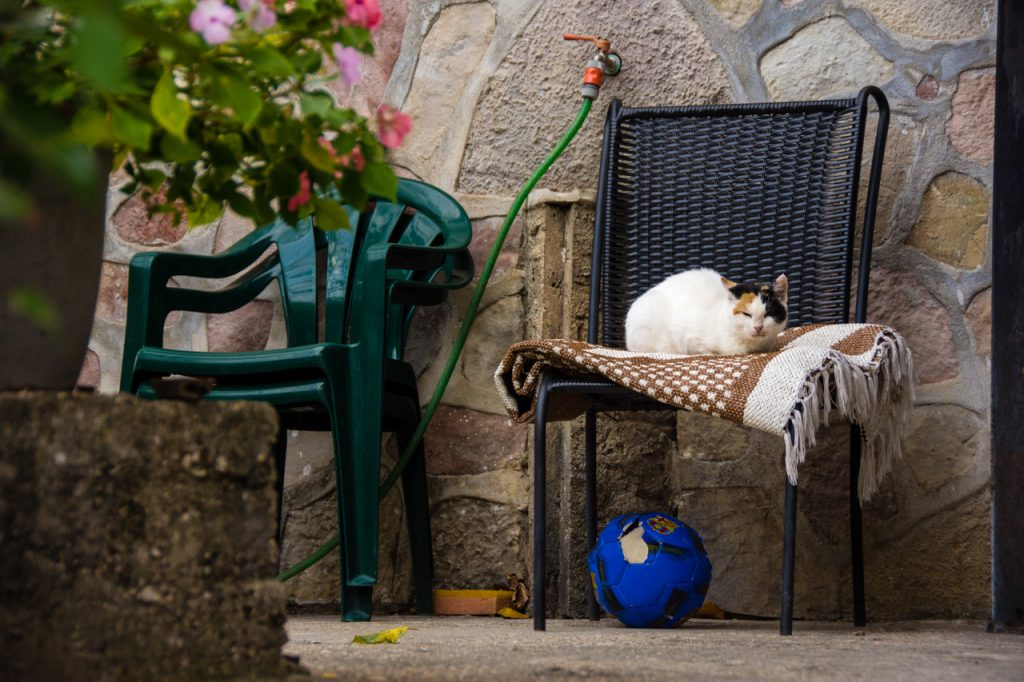 Relaxing time in Gjirokaster