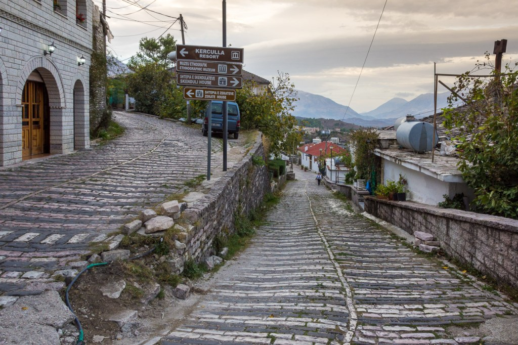 Cobbled Streets of Gjirokaster