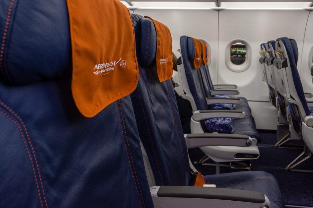 Aeroflot Economy Cabin