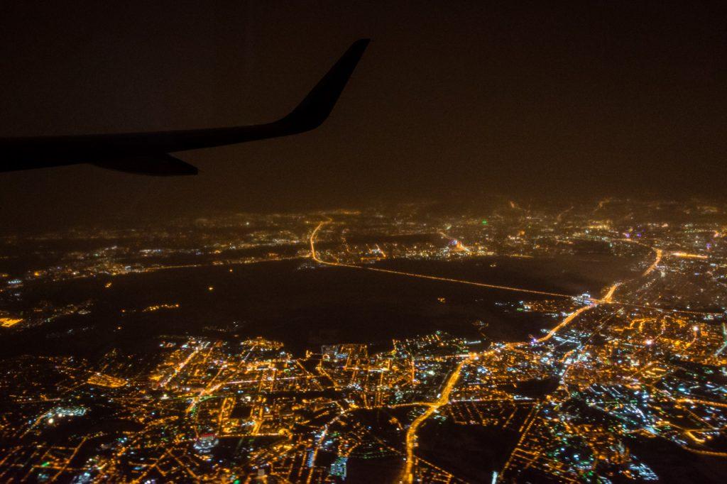 Moscow Aeroflot departure