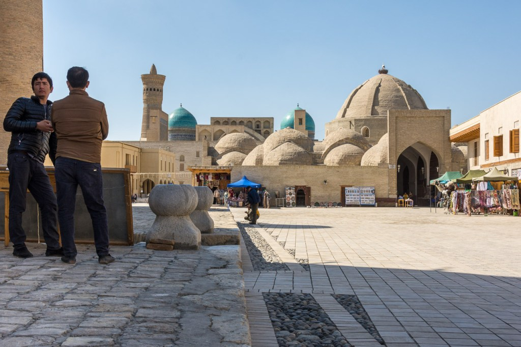 Silk Road City Bukhara Trading Domes