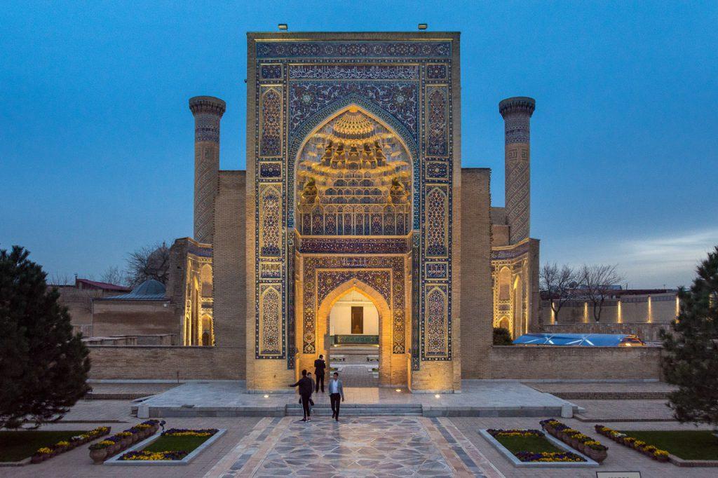 Gur-e-Emir Mausoleum, Samarkand