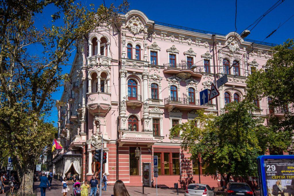 Odessa Pushkin Street