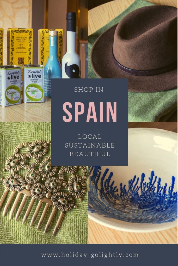 Spain Shopping Pin