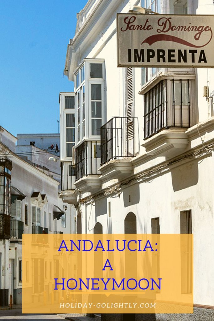Andalucia Honeymoon pin