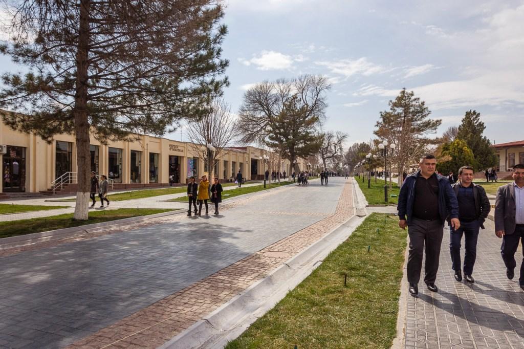 Tashkent Road, Samarkand