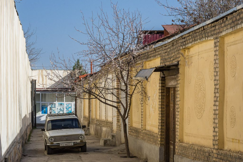 Samarkand Old Town near Antica B&B