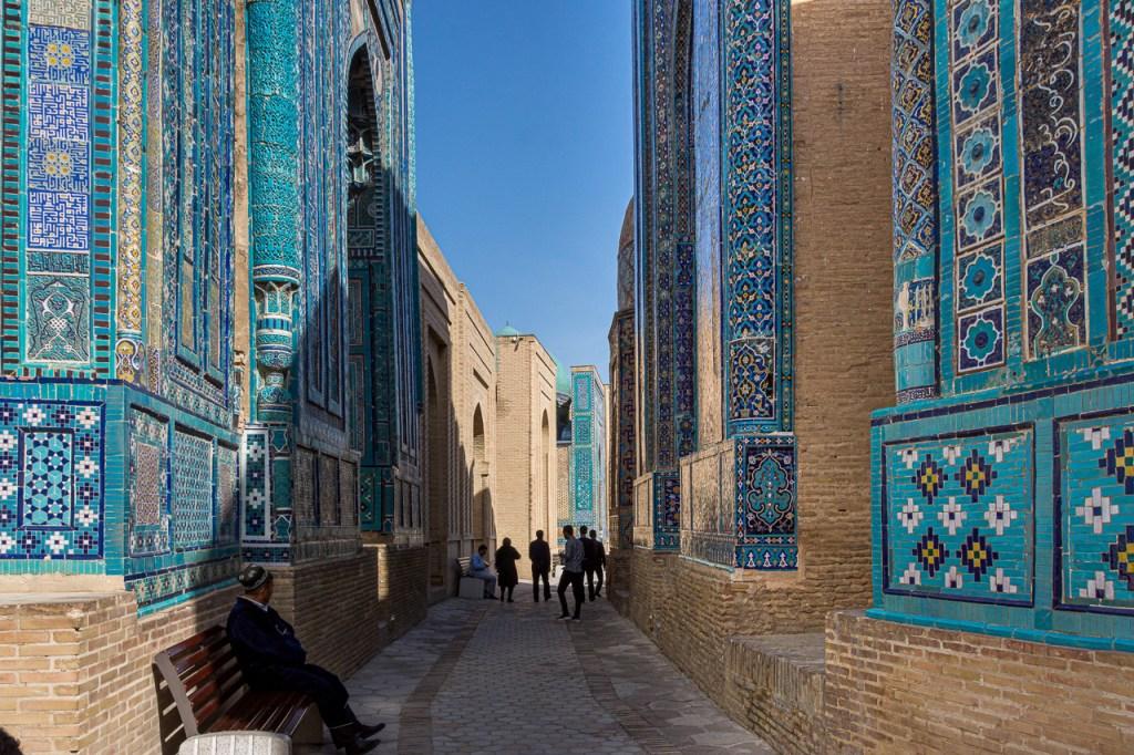 Uzbekistan, Samarkand, Shah-i-Zinda