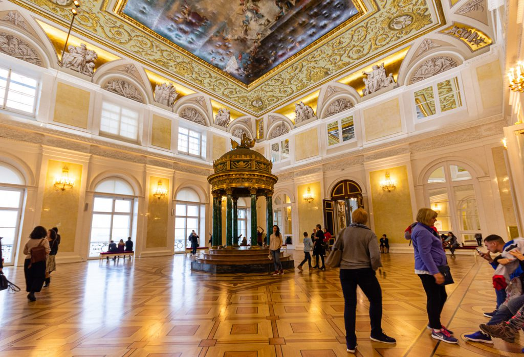 The Fore Hall to the Great Nicholas Hall, Winter Palace, St. Petersburg
