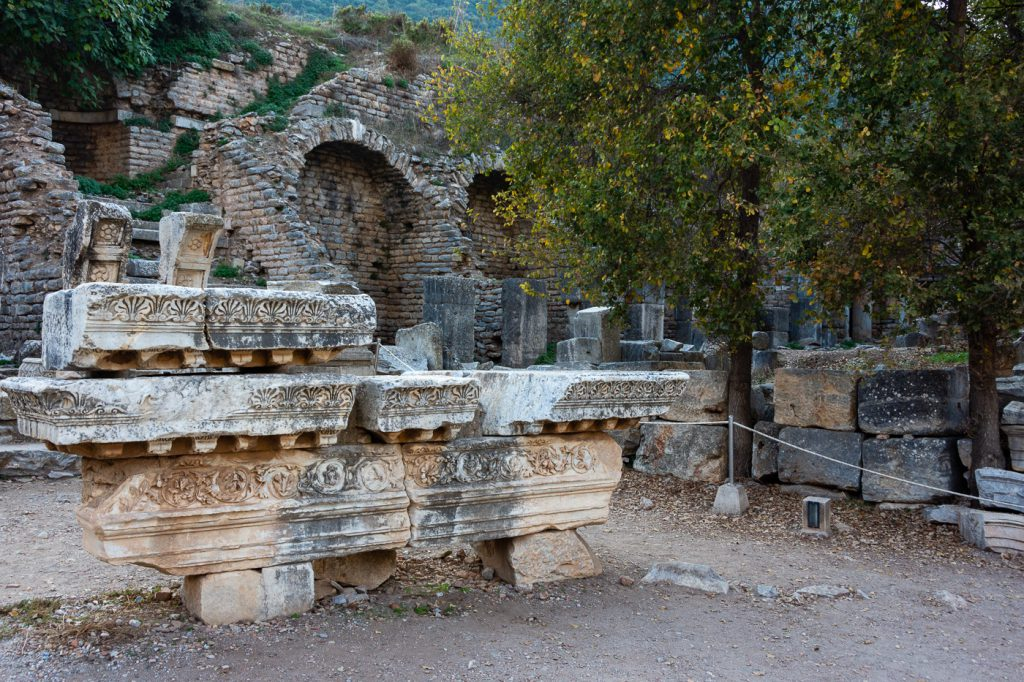 remains of Temple of Domitian, Ephesus