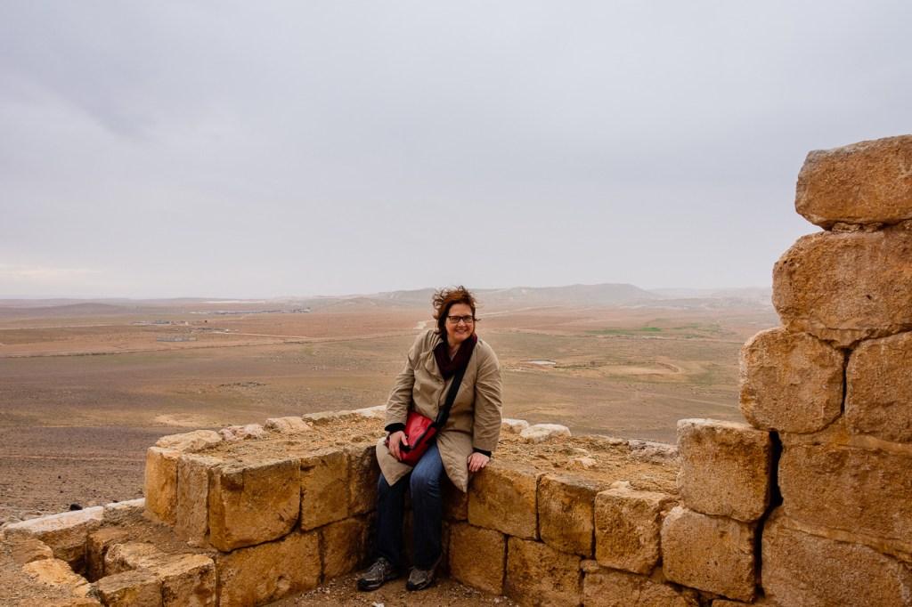 Jordan-Desert Castles-Qasr Hallabat