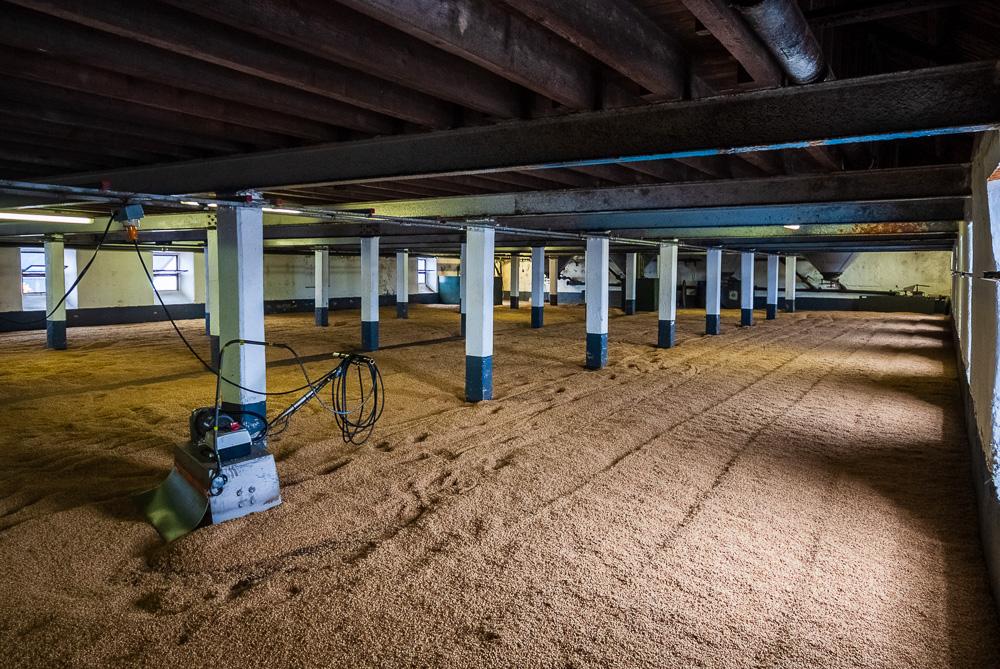 Malt Drying Floor, Laphroaig Distillery