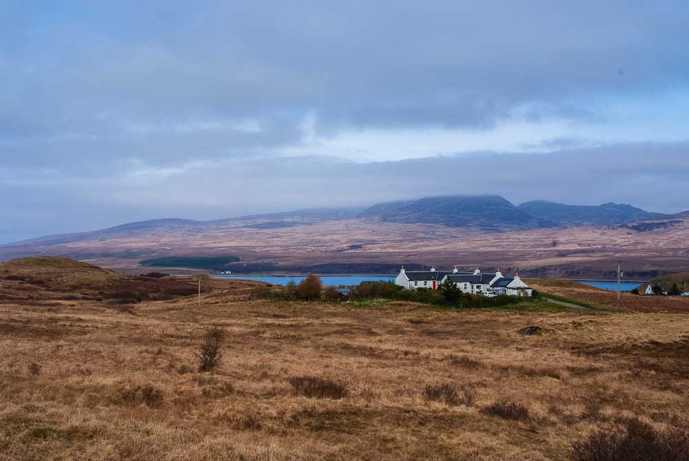hilly scenery on Islay