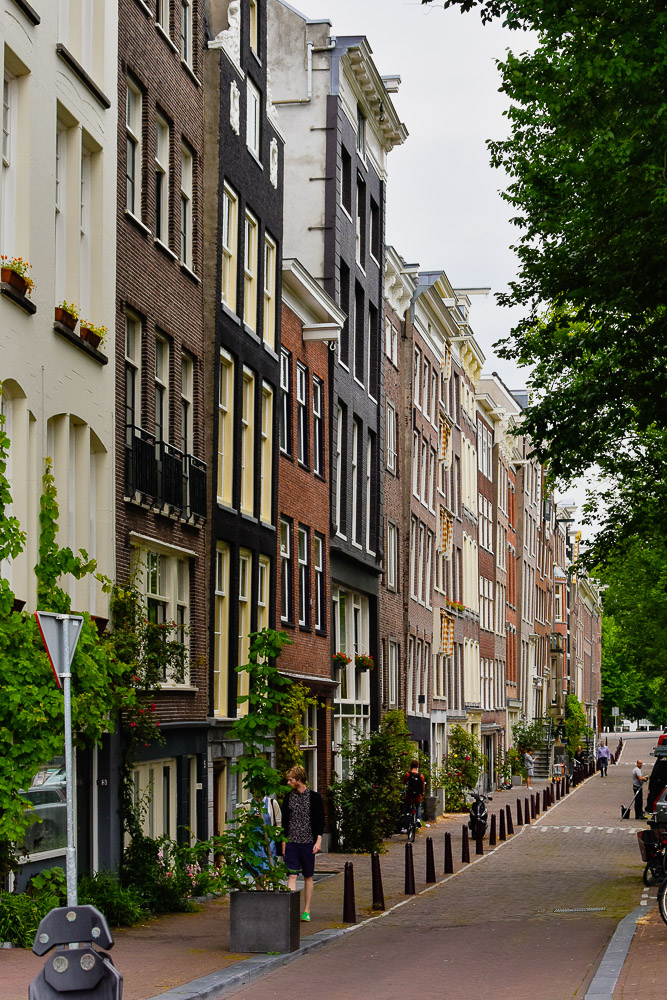 Amsterdam in summer 2020