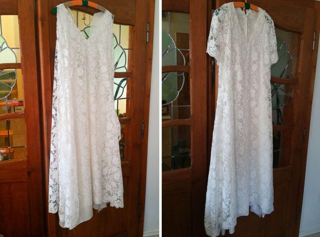 wedding dress home made