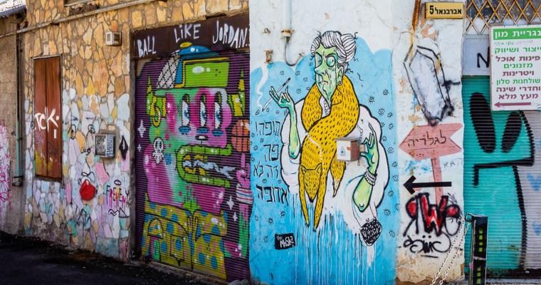 A fine Florentin Street Art walk, Tel Aviv