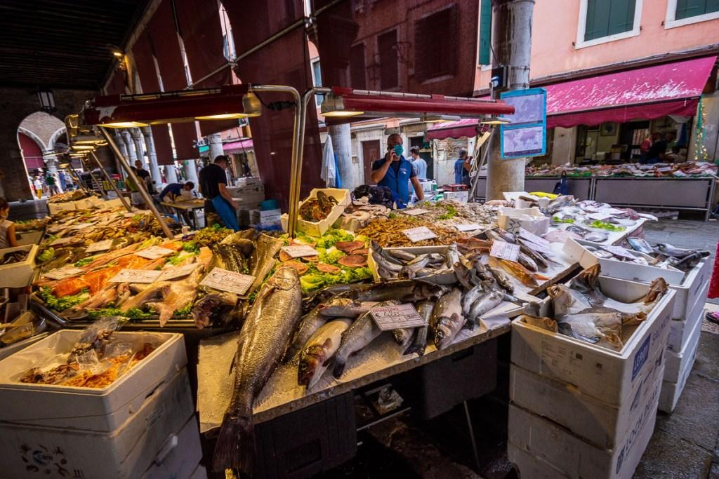 Pesceria of Venice Rialto Market