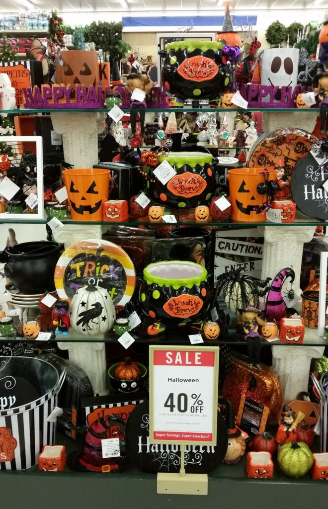 if you prefer the cute and fun halloween decorations hobby lobby is definitely the place to shop check out this decor - Candy Christmas Decorations Hobby Lobby