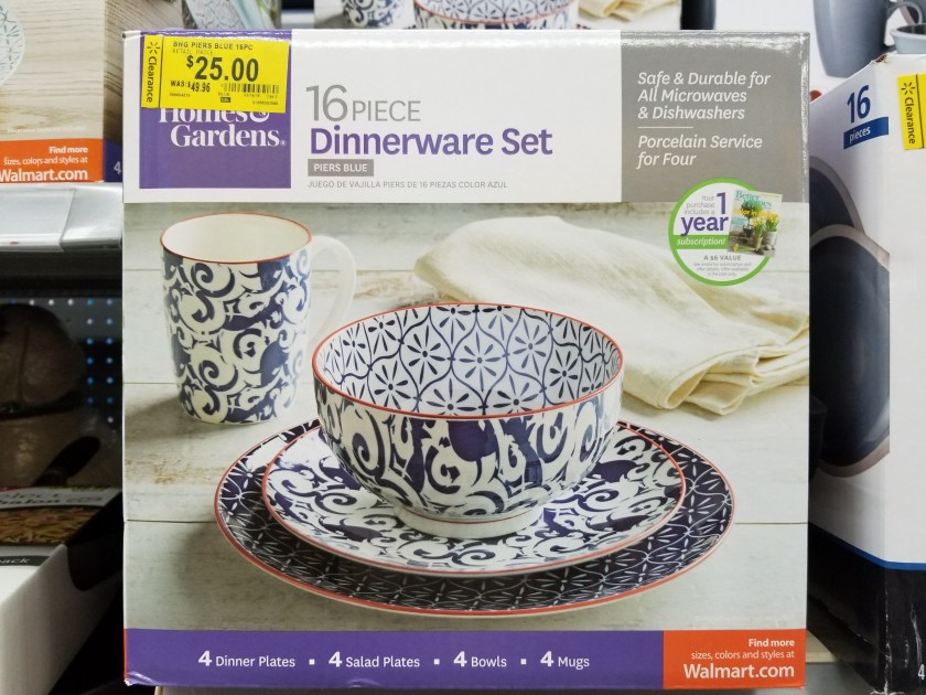 Better Homes Gardens Dinnerware Sets On Clearance At Walmart Only