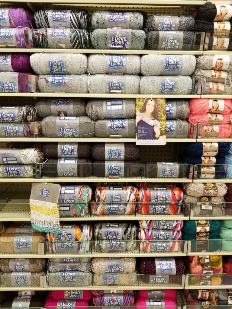 ALL YARN is 30% off at Hobby Lobby this week! – Holiday