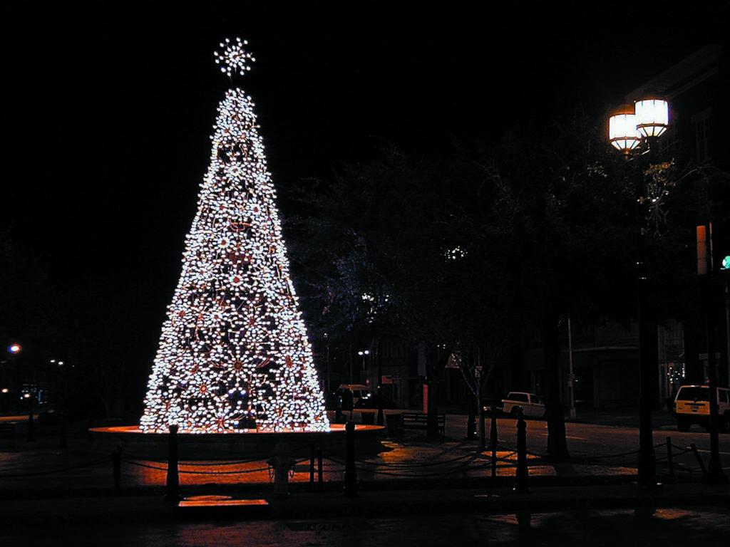 3D Snowflake Tree