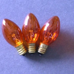 C7 Incandescent Twinkle Bulbs