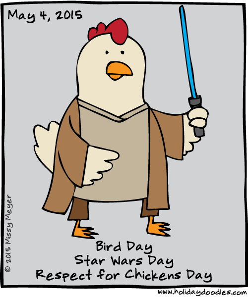 Star Wars Day May 4: Holiday Doodles » 2015 » May » 4