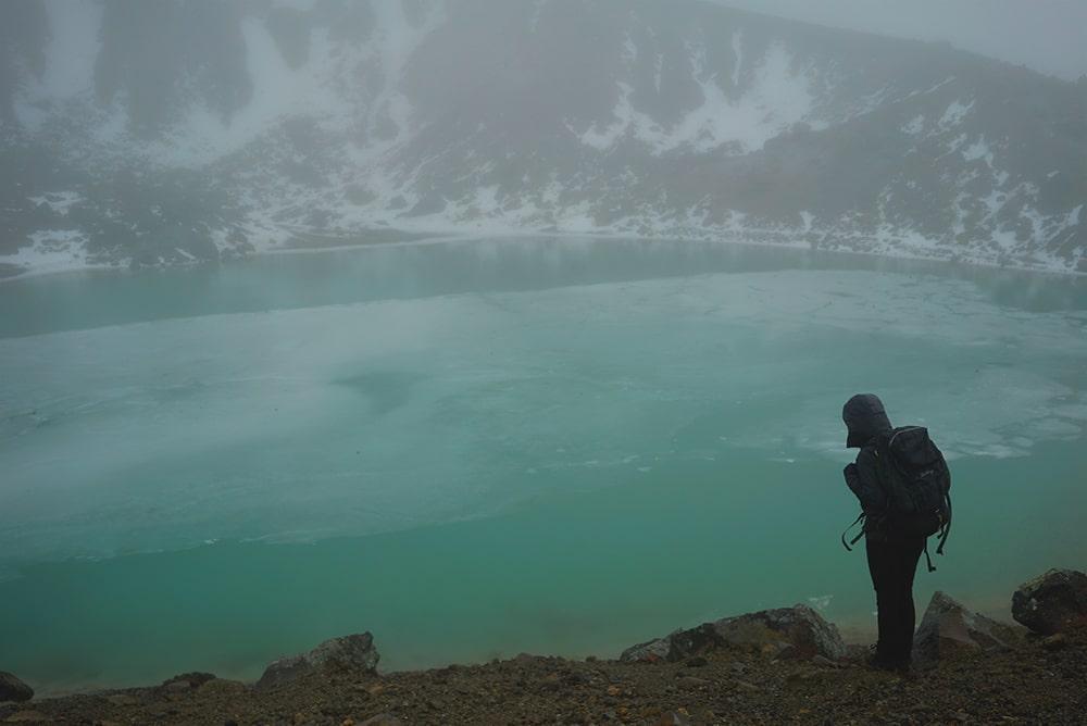 Emerald Lake Tongariro Crossing.