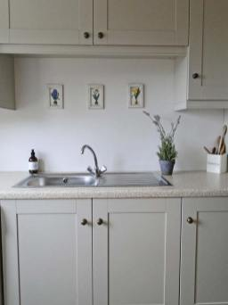 Brooke Cottage Dunfanaghy - utility room