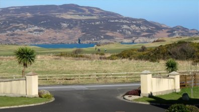 7 The Links Dunfanaghy Donegal - entrance