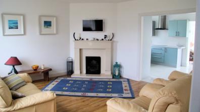 3 Rinn na Mhara Holiday Home Dunfanaghy - living room