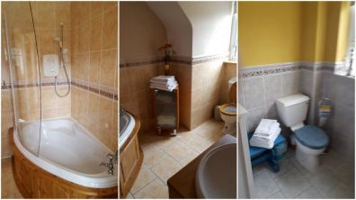 The Pines Holiday Home Dunfanaghy - bathroom