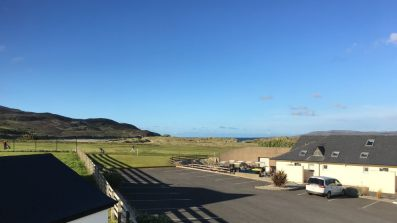 15 Rinn na Mara Dunfanaghy - view over golf course towards Killahoey beach and Horn Head