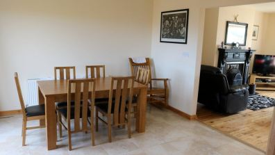 No.42 Oak Grove Dunfanaghy - dining area
