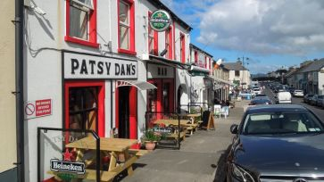 Patsy Dan's along Dunfanaghy Main Street