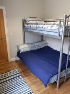 Corran View Dunfanaghy - bunk bedroom