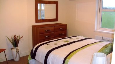 Main bedroom of Lakeview Dunfanaghy