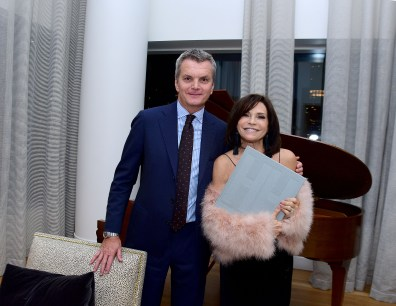 """Iris Dankner and Frette Celebrate The Kick-Off Of Holiday House NYC And The Release Of The Anniversary Book """"10 Years Of Decorating For A Cure"""""""