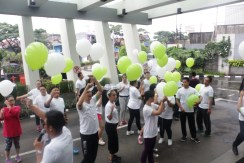 Before Release Balloon Ceremony